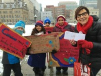 Dr. Cindy Blackstock and Students